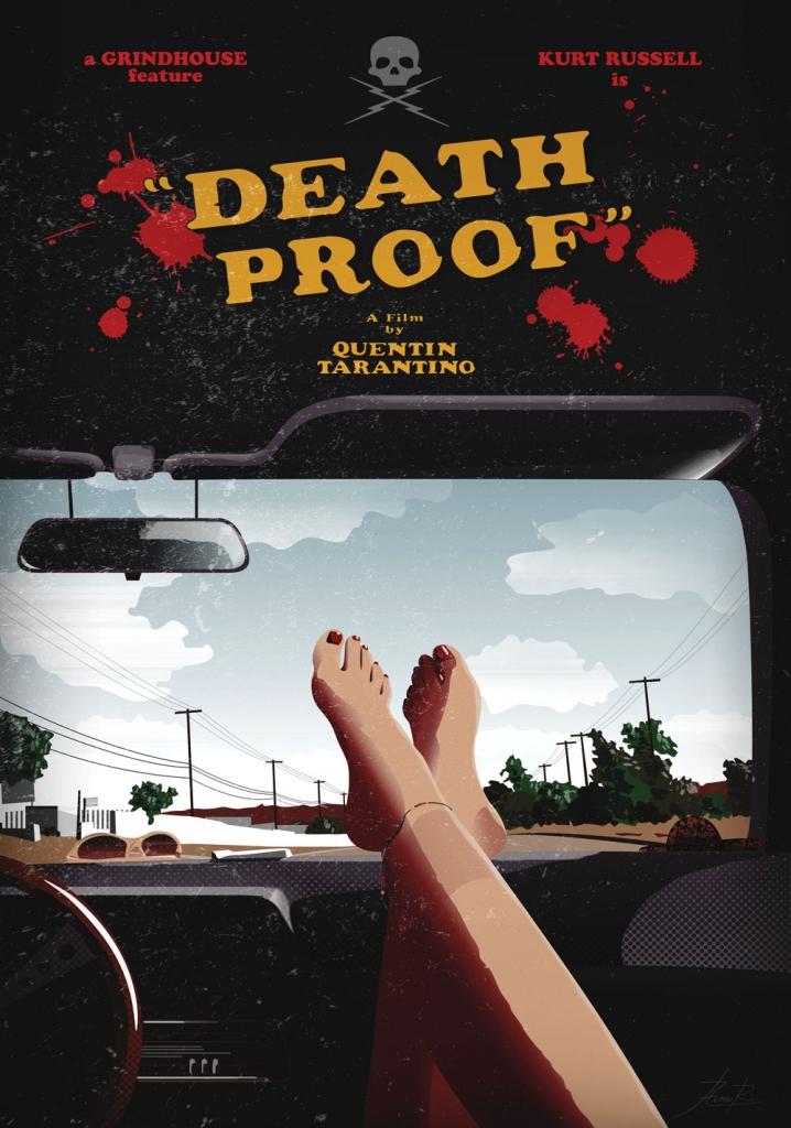 Death Proof - tribute poster - Aina Riu