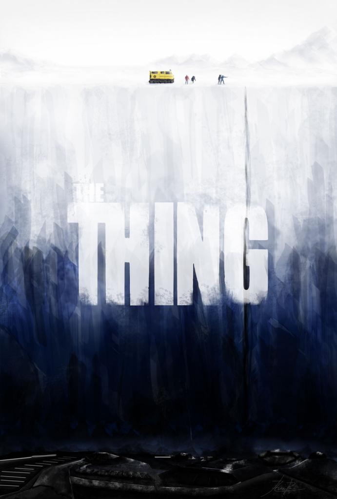 The Thing - tribute poster - Aina Riu