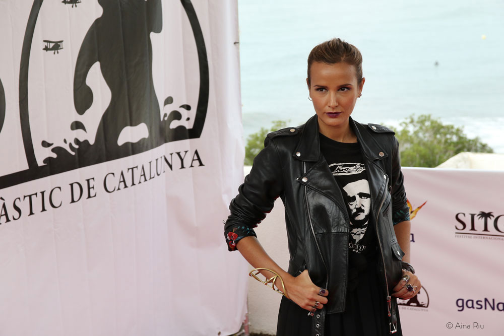 Julia Ducournau, director of 'Grave (RAW)' who received the Citizen Kane Award for Best Up-and-Coming Director, the Carnet Jove Jury Award for Best Feature Length Film and the Méliès d'Argent