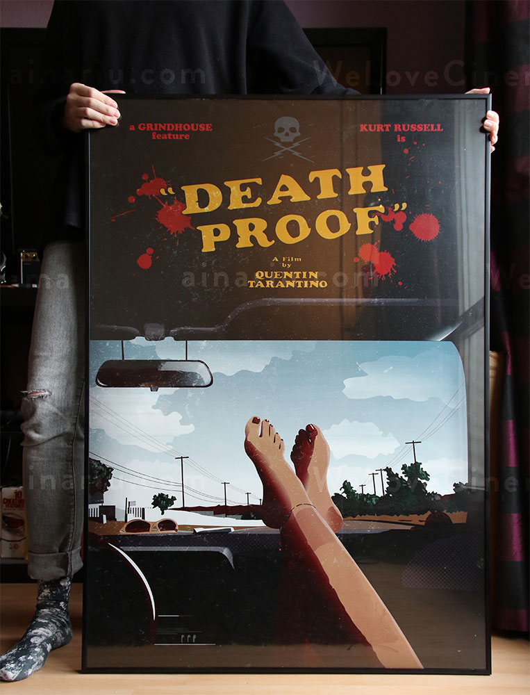 WeLoveCinema - Death Proof Tribute Poster