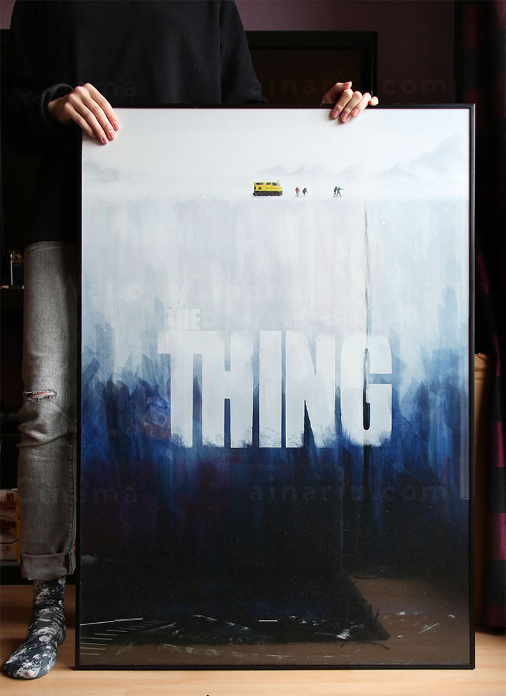 WeLoveCinema - The Thing Tribute Poster