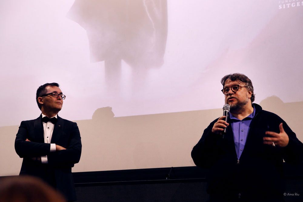 Guillermo del Toro presenting The Shape of Water, inaugural film at the Sitges Film Festival 2017