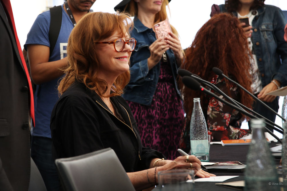 Susan Sarandon at Sitges Film Festival 2017