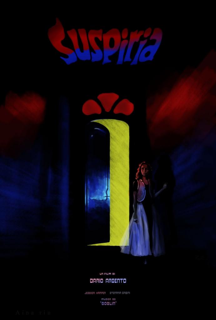 Suspiria - tribute poster - Aina Riu